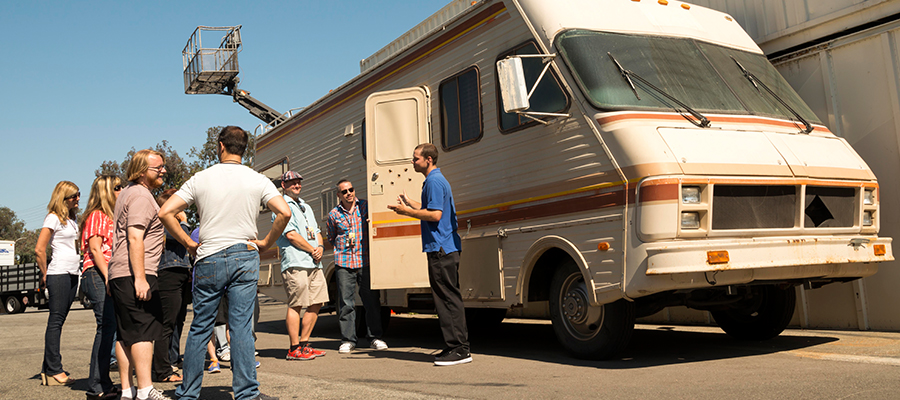 See the Breaking Bad RV at Sony Pictures