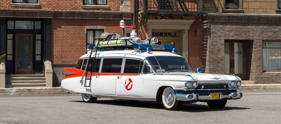 See the Ghostbusters Car at Sony Pictures