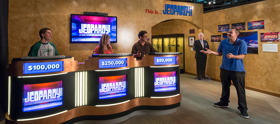 Visit the Jeopardy! Stage